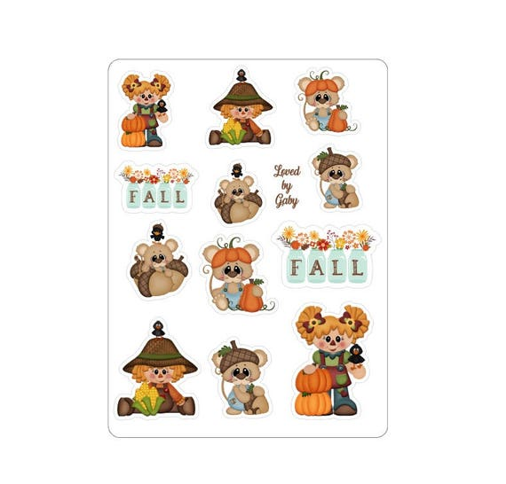 "LovedbyGaby stickers ""Pumpkin fall"""