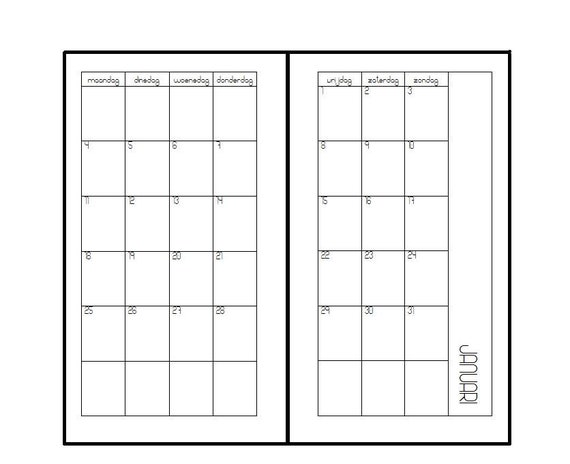 2021 Personal  inserts monthly