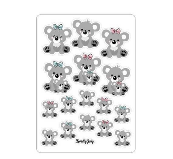 "LovedbyGaby stickers ""Koala love"""