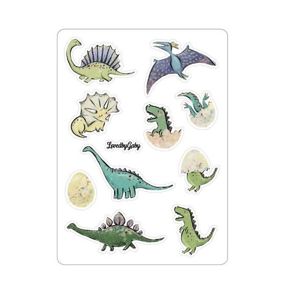 "LovedbyGaby stickers ""Dino"""