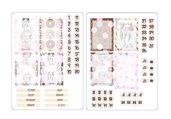 TN A6 boxes stickers kits 1