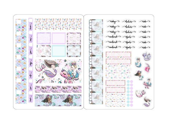 Lovedbygaby stickerkits for the weeks