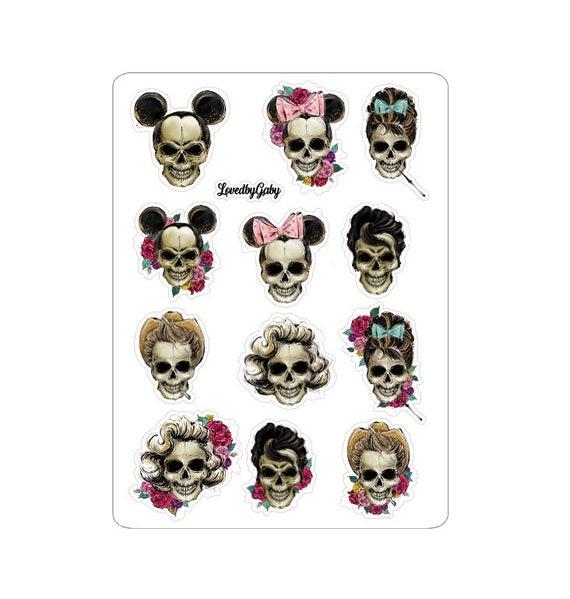 """LovedbyGaby stickers """"Skulls"""""""