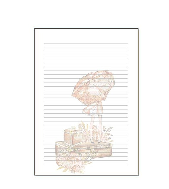 LovedbyGaby notepads/inserts Lama, Cozy fall, Boho forest and planning