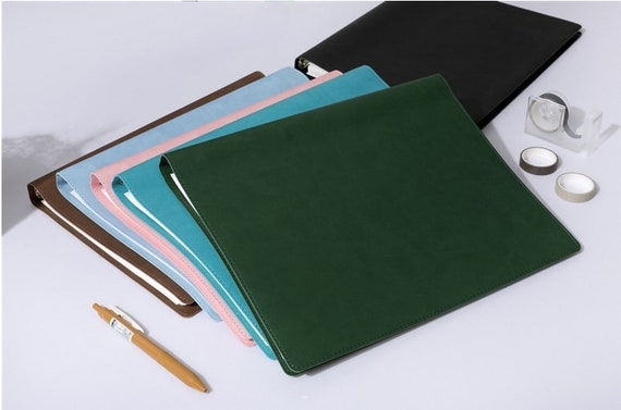 A4 ringbound planners
