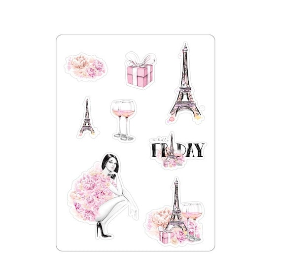 "LovedbyGaby stickers ""Paris girl"""