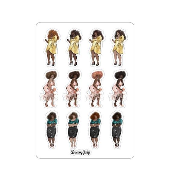 "LovedbyGaby stickers ""Saturday nights"""