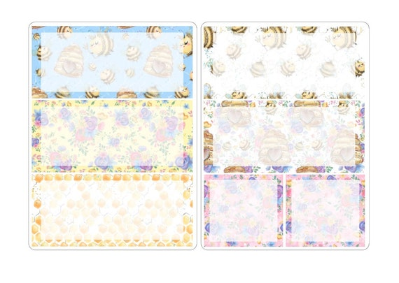 A5 deco stickers for the classic inserts 2