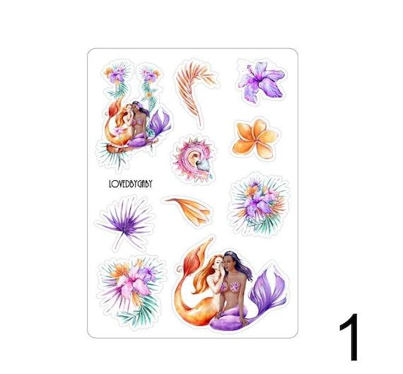 """LovedbyGaby stickers """"Tropical Mermaids"""""""
