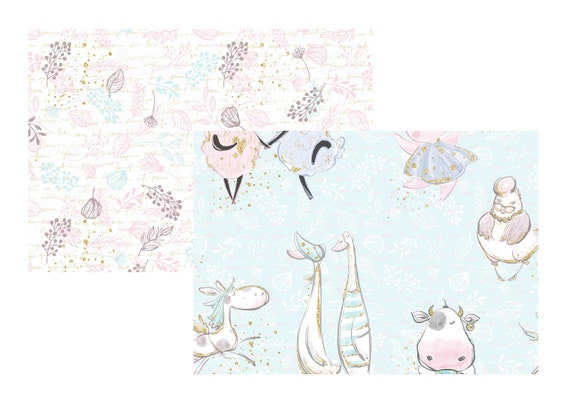 """A4 LovedbyGaby scrapbook papers """"Farmlife"""""""
