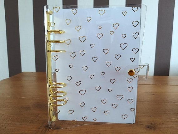 LovedbyGaby A5 clear planners