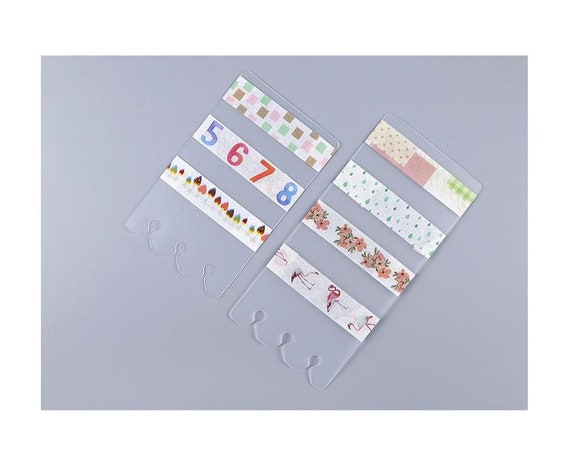 Personal and A5 washi cards