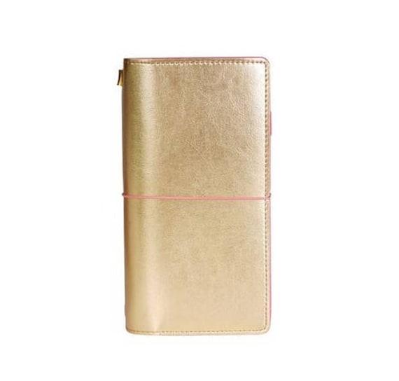"""TN regular travelers notebook """"gold"""""""
