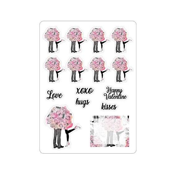 "LovedbyGaby stickers ""Valentine"""