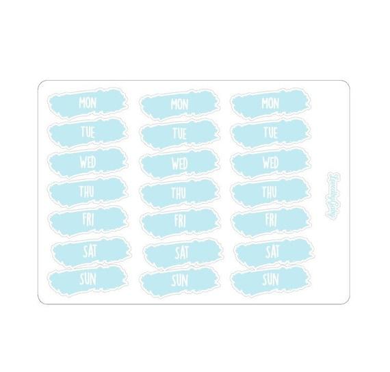 "LovedbyGaby stickers ""Days"""