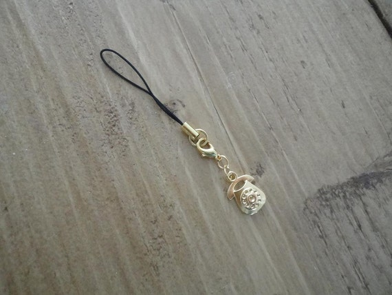 "Charm ""gold telephone"""