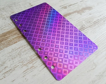 "Personal dashboard ""sparkling purple"""