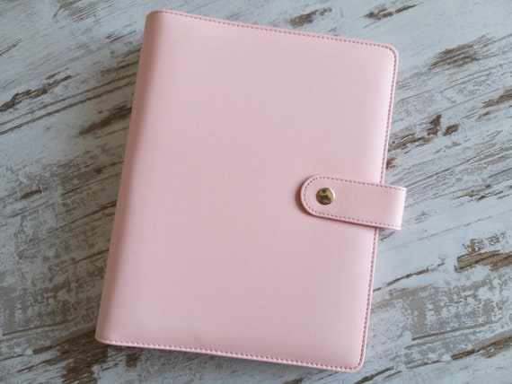 """A5 ringbound planners """"double zipper"""""""