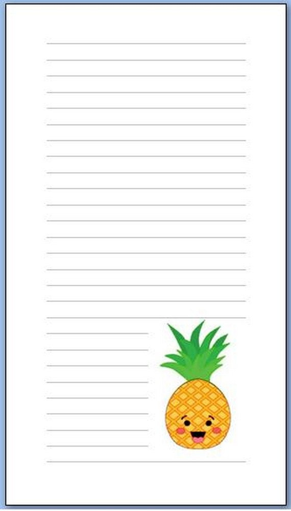 Personal notepads
