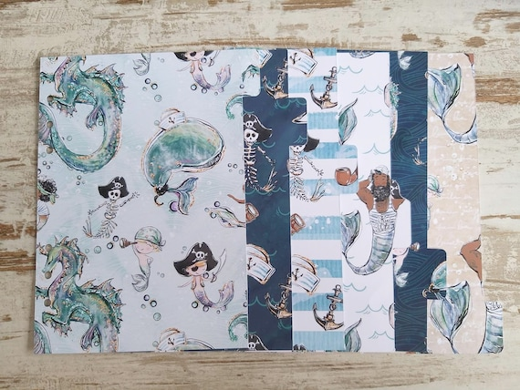 "LovedbyGaby A5 dividers  ""sailor"""