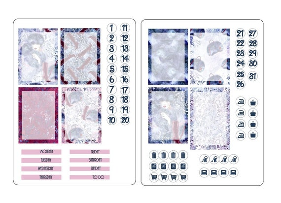 TN A6 boxes sticker kits 2