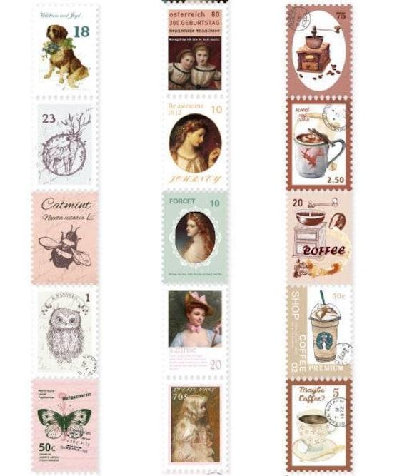 Stamps washi