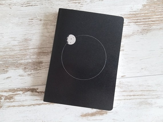"""A6 and B6 notebooks daily """"Moon"""""""