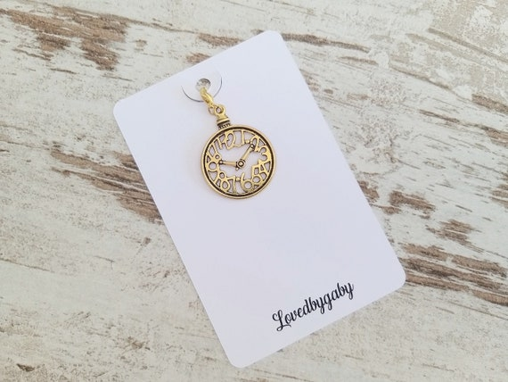 Planner charms gold 3