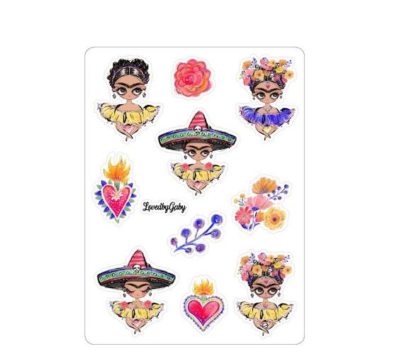"LovedbyGaby stickers ""Frida"""