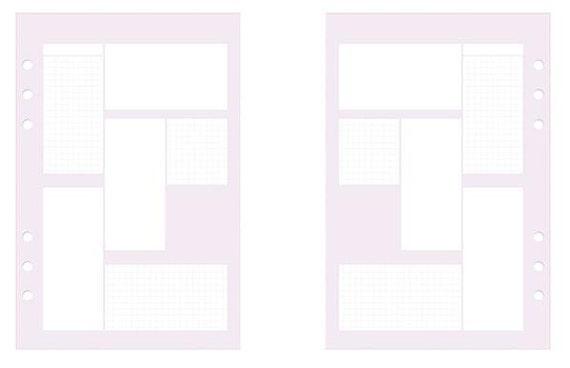 "A5 DOKIBOOK ""lilac box"""