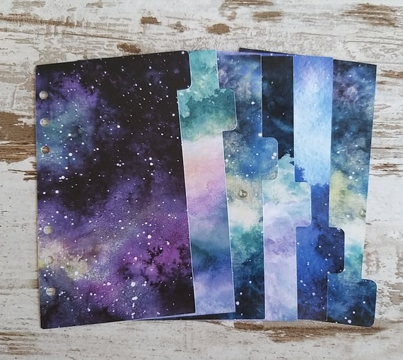 """Personal dividers """"Galaxy"""""""
