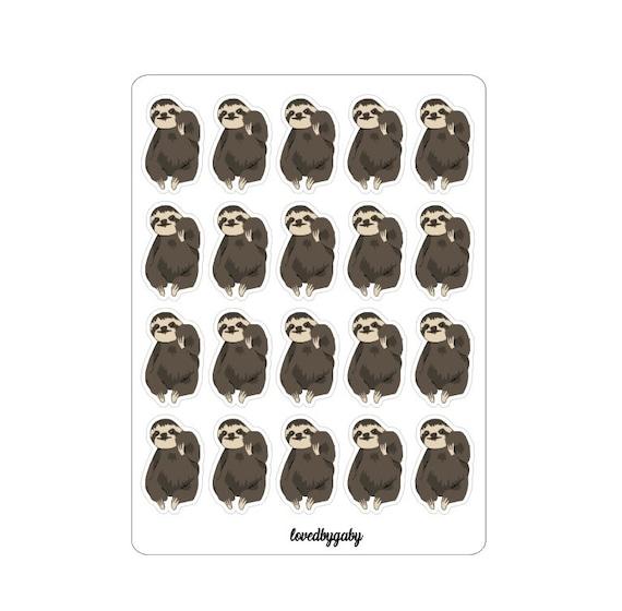 "LovedbGaby stickers"" Sloth"""