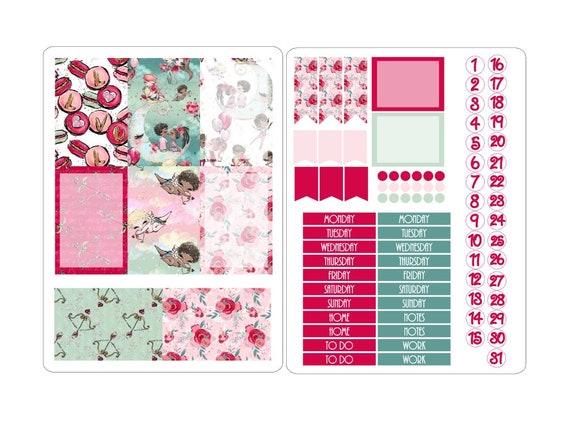LovedbyGaby stickerkits Happy planner