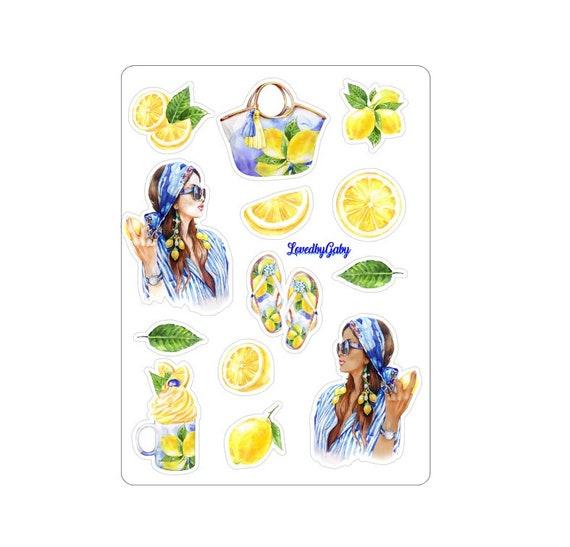 """LovedbyGaby stickers """"Lemons"""""""