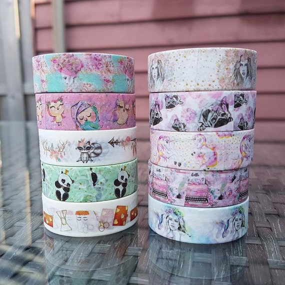 LovedbyGaby washi/masking tapes