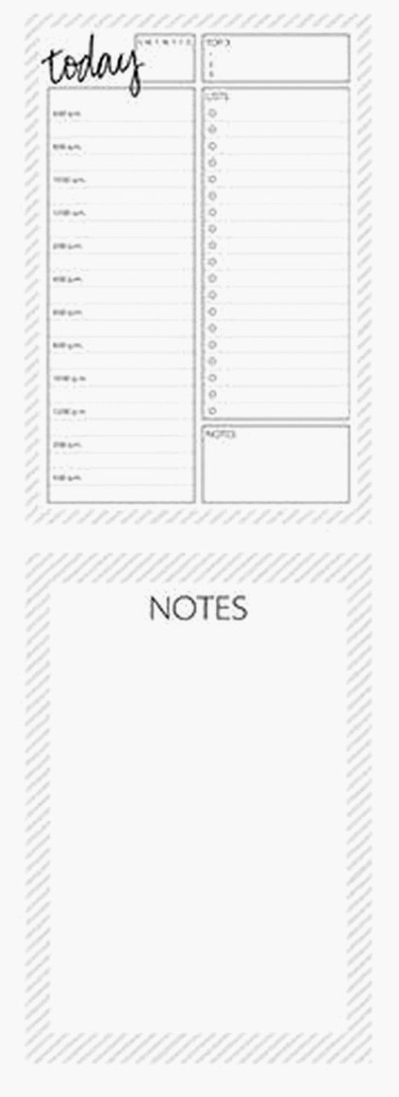 a5 today notepad
