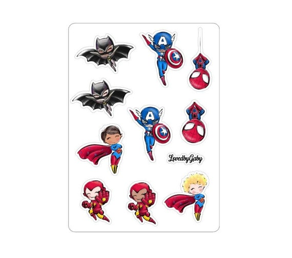 "LovedbyGaby stickers ""Superboys"""