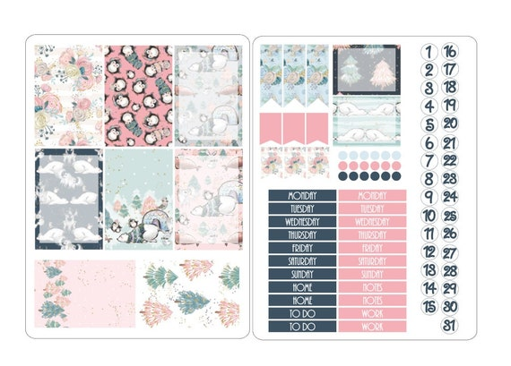 LovedbyGaby stickerkits Happy planner