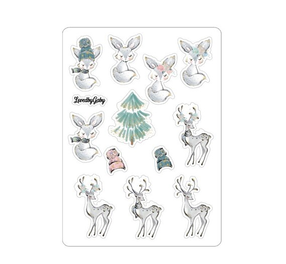 """LovedbyGaby stickers """"Arctic"""""""