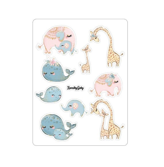 """LovedbyGaby stickers """"Mommy's day"""""""