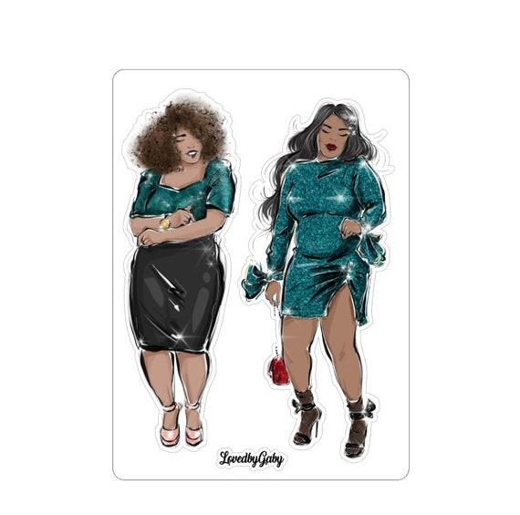 """LovedbyGaby stickers """"Fabulous women"""""""