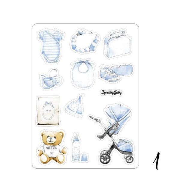 "Lovedbygaby stickers ""babyboy"""