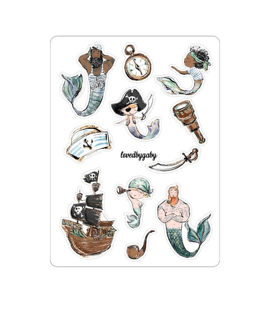 """LovedbyGaby stickers """"Sailor"""""""