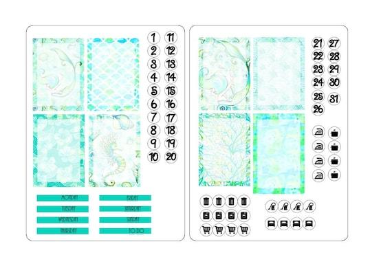 TN A6 boxes sticker kit 4