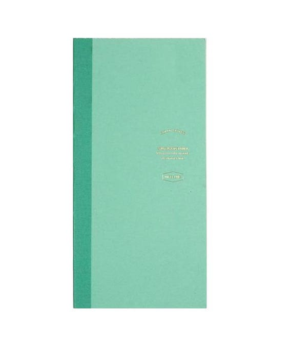 Mint weekly/monthly notebook