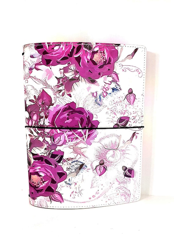 LovedbyGaby TN A5 wide Purple flowers