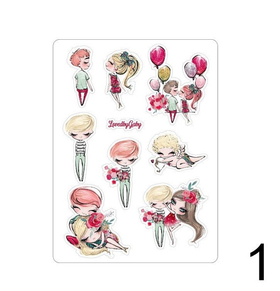 "LovedbyGaby stickers ""Cupido"""
