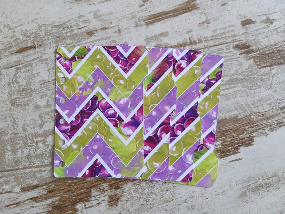 A7 pocket divider sets