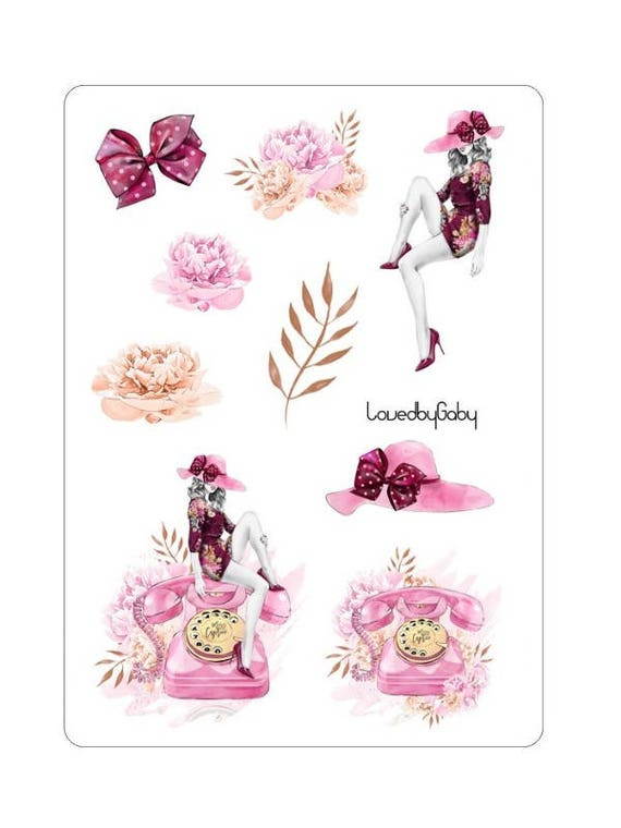 """LovedbyGaby stickers """"Caprice"""""""