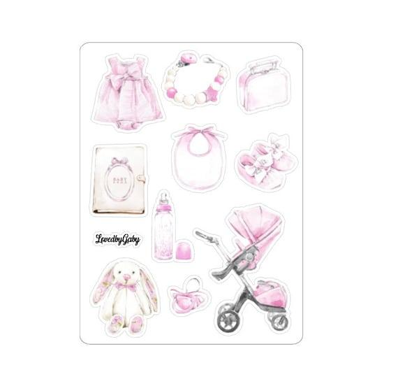 LovedbyGaby stickers Babygirl
